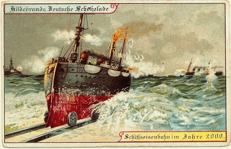 Гибридный водный корабль