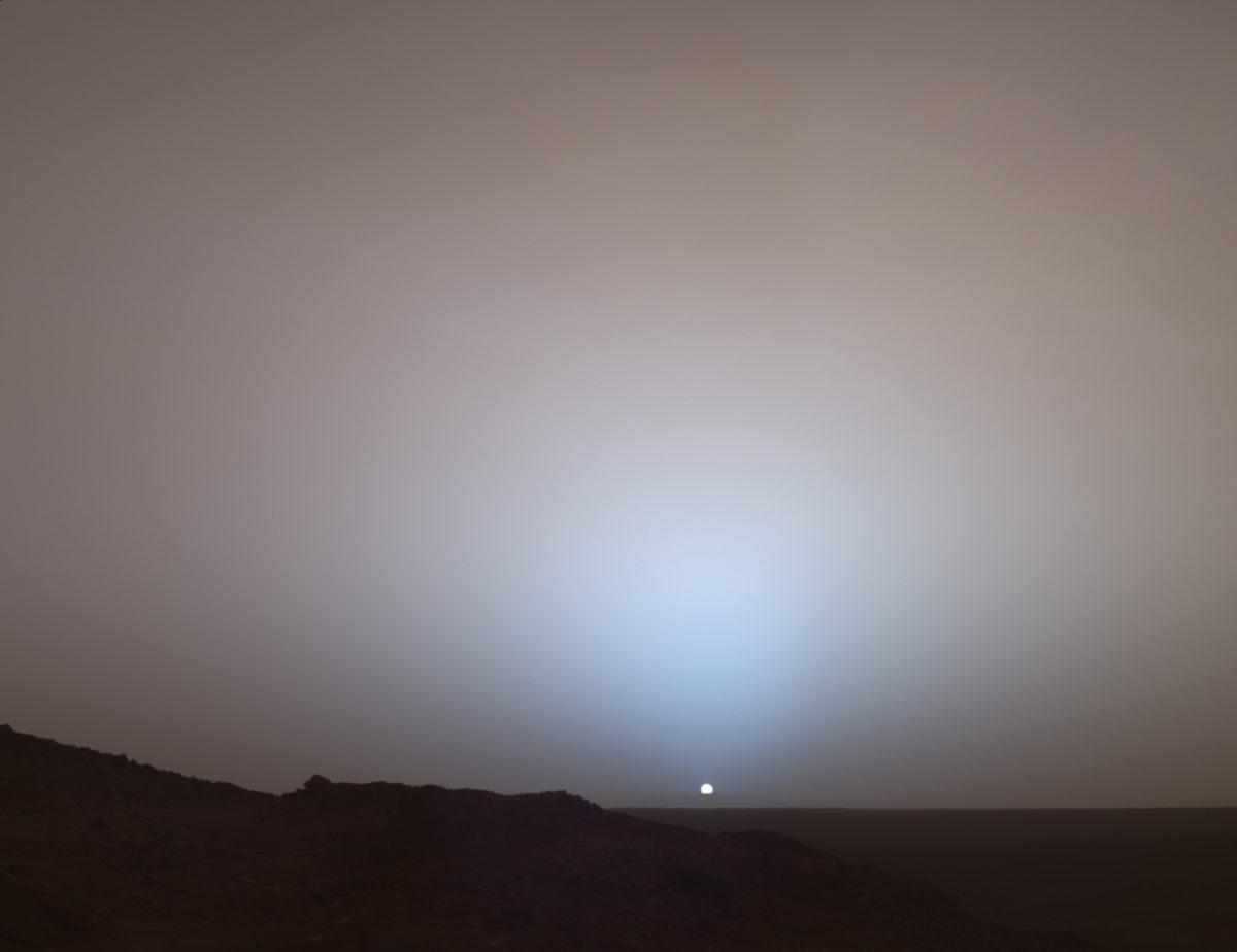 Марсианский закат, 2005 год