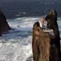 Маяк Þrídrangaviti в Исландии - самый изолированный маяк в мире