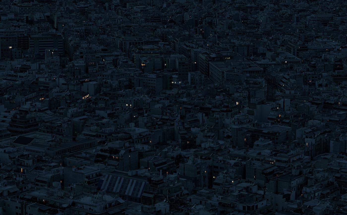 Одиночество в мегаполисе: фотопроект Аристотеля Руфаниса