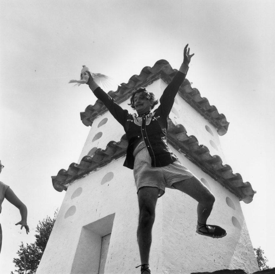 Один сюрреалистический день с Сальвадором Дали