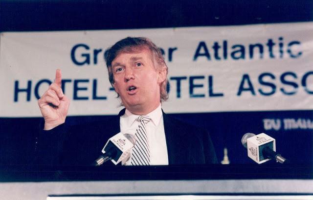 Трамп в Атлантик-Сити, 1992 год