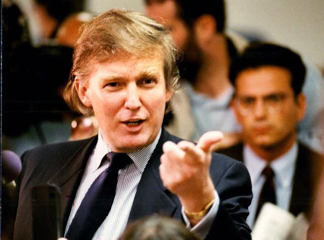 Дональд Трамп в Атлантик-Сити, 1990 год