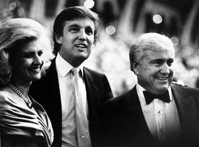 Ивана Трамп, Дональд и Мерв Гриффин, 1989 год