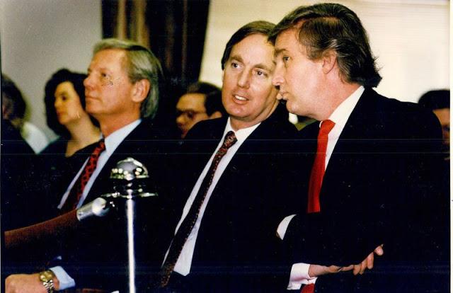 Дональд Трамп и его брат Роберт, Атлантик-Сити, 1990 год