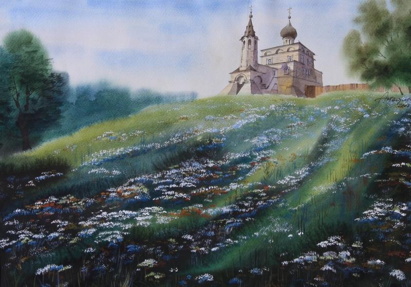 Работа художника Айдарова Равиля Сайяровича