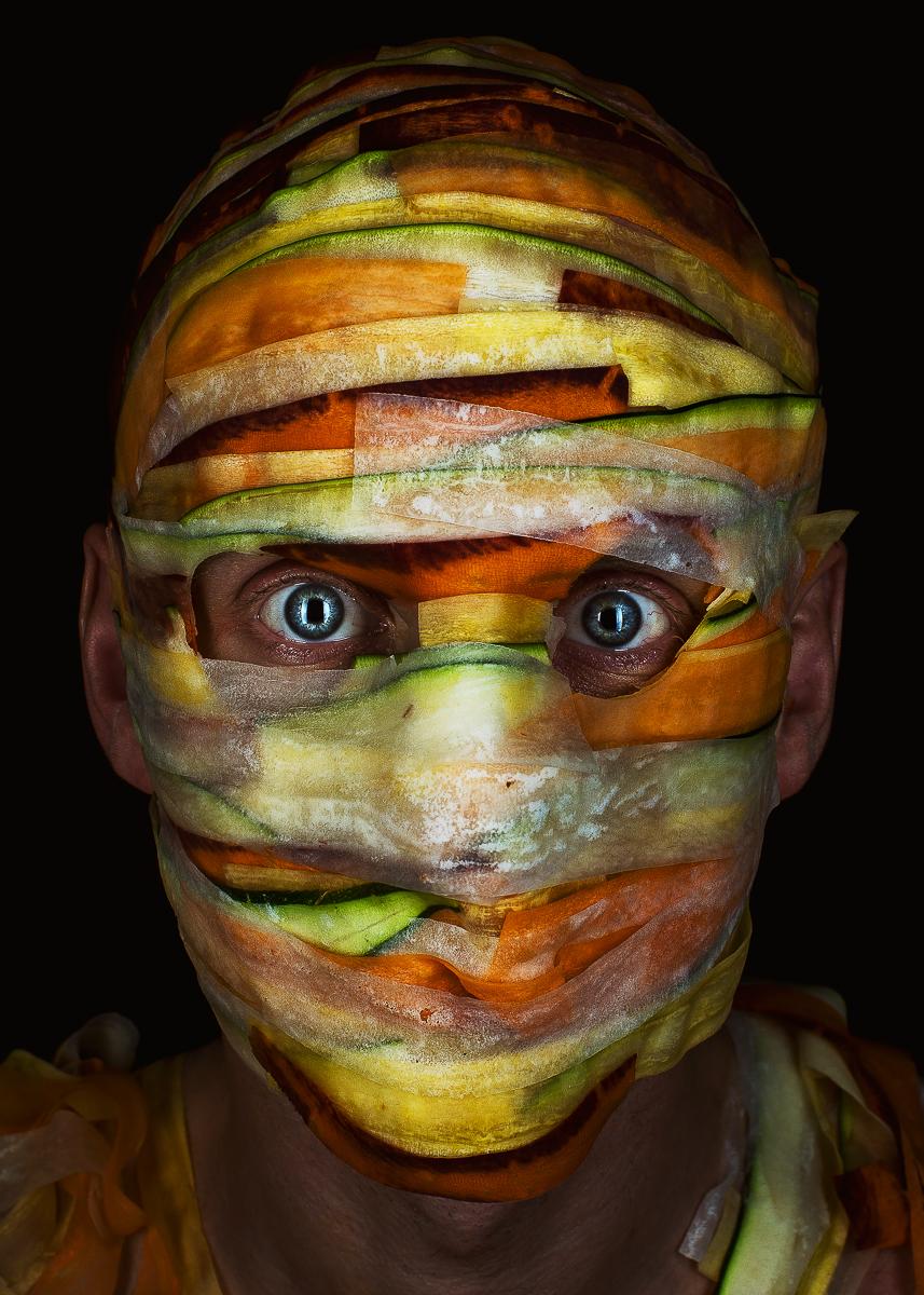 MENU: концептуальный фотопроект, исследующий ресторанные ингредиенты