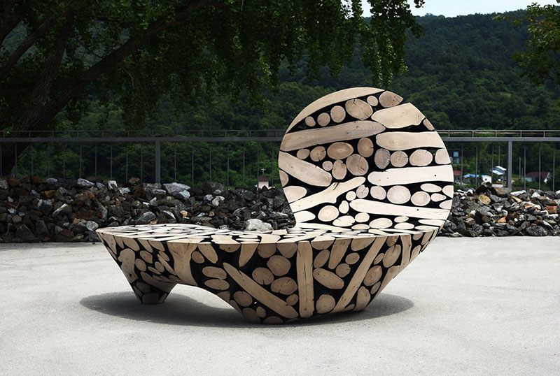 Элегантные скульптуры из дерева от Ли Джейху