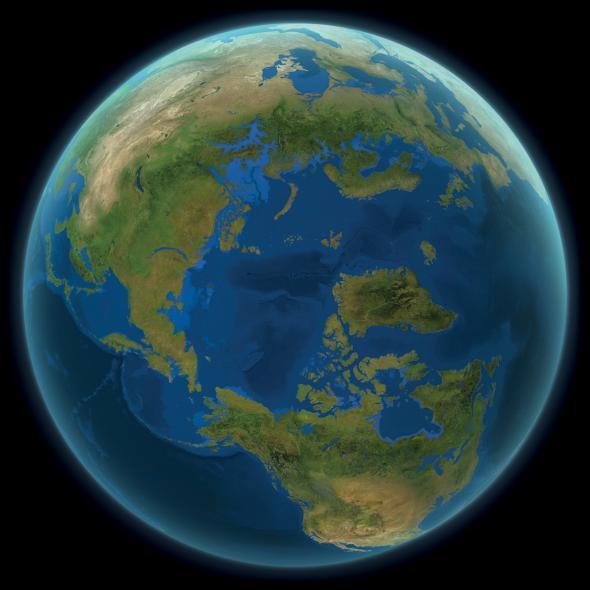 Как будет выглядеть наша планета, если все ледники на Земле растают