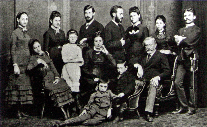 Семья Фрейда