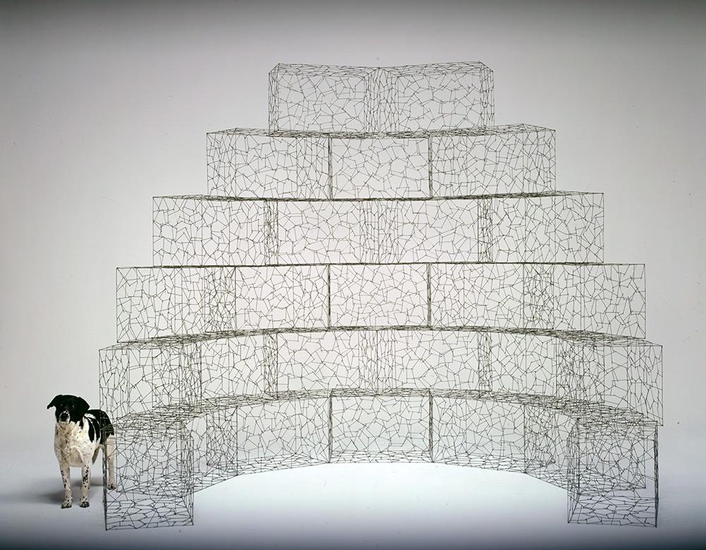 Необыкновенные скульптуры из гвоздей от Джона Бисби