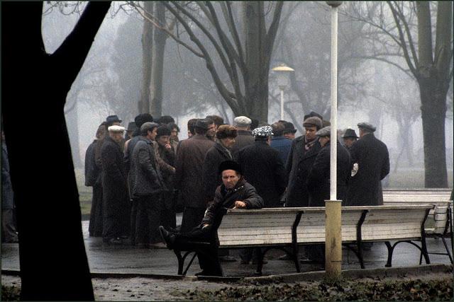 Утренняя встреча в парке Шевченко