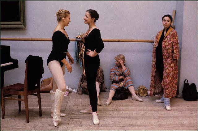 Балерины на перерыве