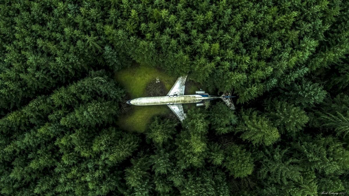 Работа, вошедшая в TOP 10 конкурса дрон-фотографии SkyPixel 2017