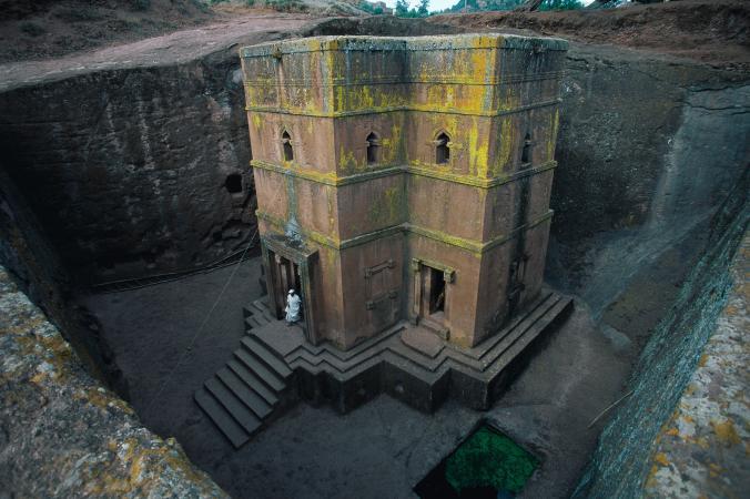 Церковь в Лалибэле, Эфиопия
