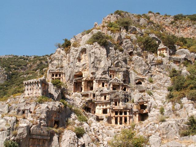 Гробницы в Турции