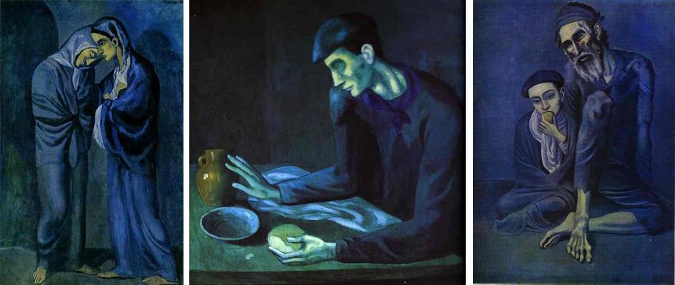 Картины Пабло Пикассо «голубого» периода