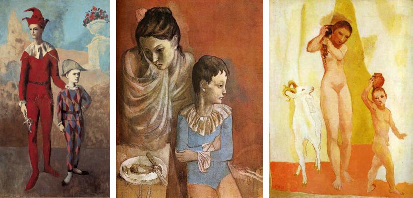 Картины Пабло Пикассо «розового» периода