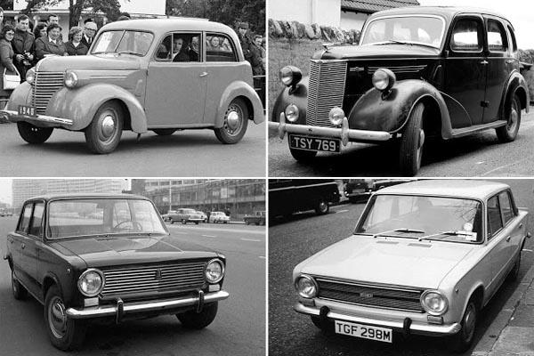 10 знаменитых советских автомобилей, скопированных с иномарок