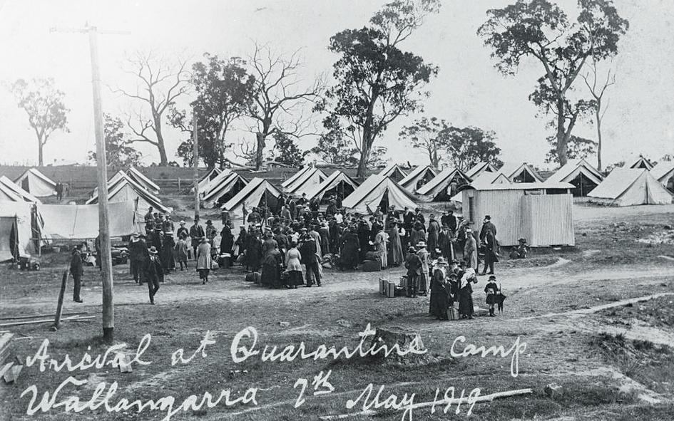 Карантинный лагерь в штате Квинсленд, Австралия
