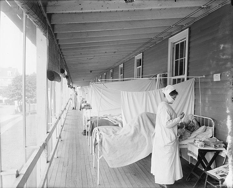 Отделение в военно-медицинском центре имени Уолтера Рида во время пандемии, США