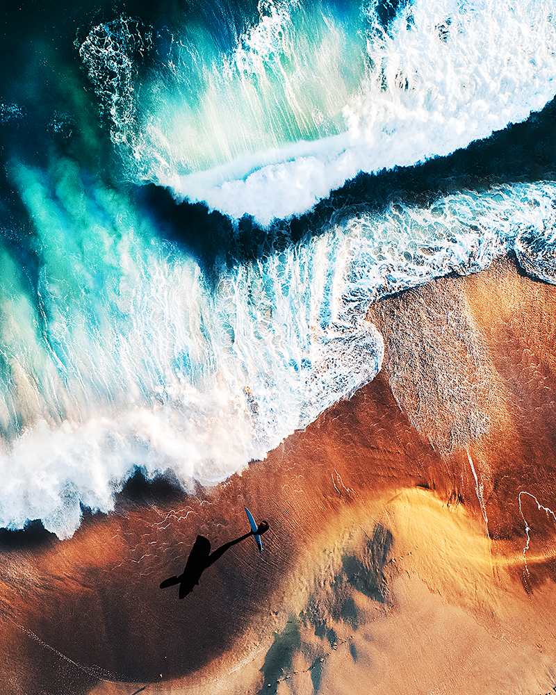Группа «Профессионал» конкурса фотографии IPOTY 2017: 1-е место в категории «Природа» (воздушная съёмка). Фотограф Emily Kaszton