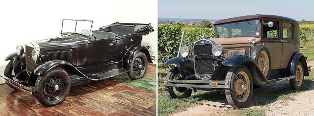 ГАЗ-А (1932—1936) // Ford Model A (1927—1931)