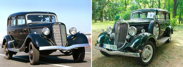 ГАЗ М-1 (1936—1942) // Ford Model B 40A Fordor Sedan (1934)