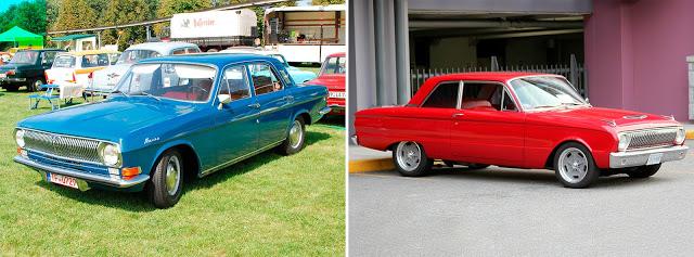 ГАЗ-24 «Волга» (1966—1985) // Ford Falcon (1962)