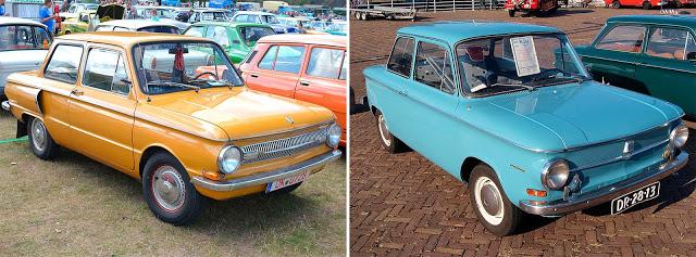 ЗАЗ-966 «Запорожец» (1967 - 1972) // NSU Prinz 4 (1961)