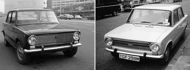 ВАЗ 2101 «Жигули» (1970—1988) // Fiat 124 (1966—1982)