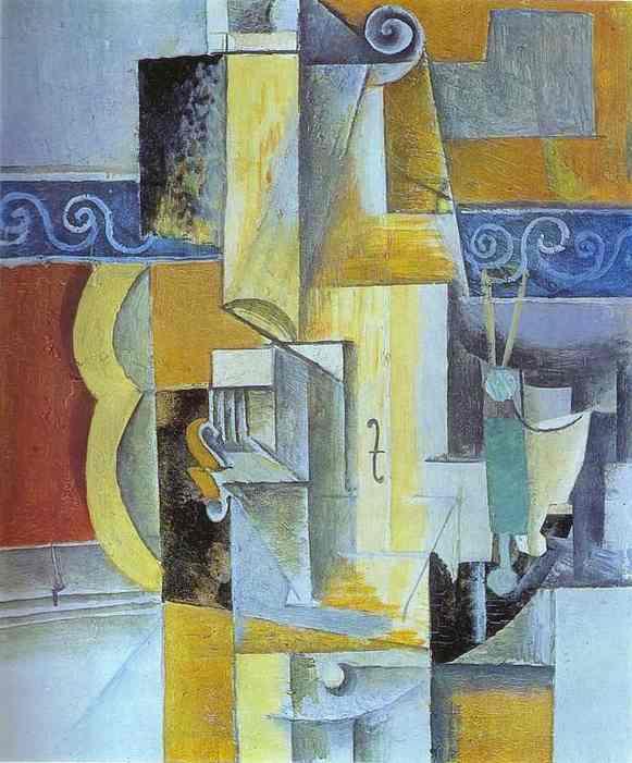 «Скрипка и гитара», 1913 год