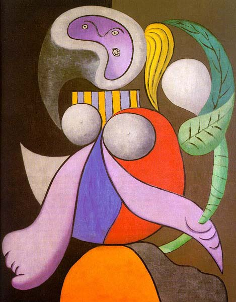Женщина с цветком, 1932 год