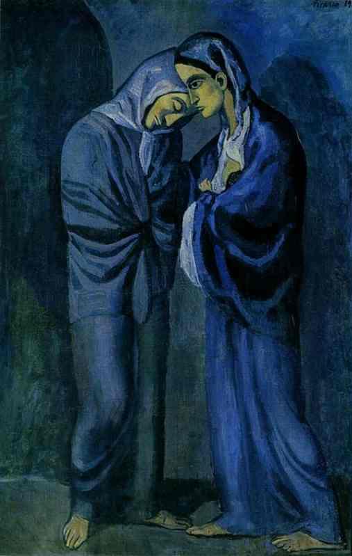 «Свидание (Две сестры)», 1902 год