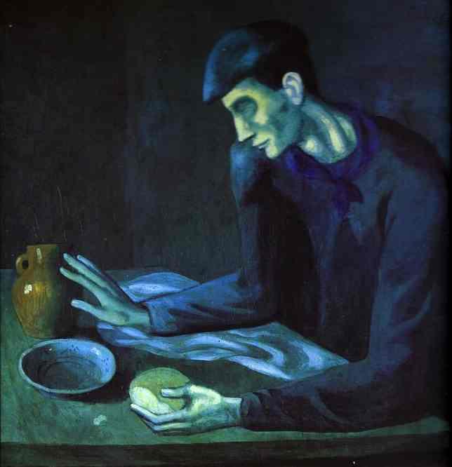 «Завтрак слепого», 1903 год