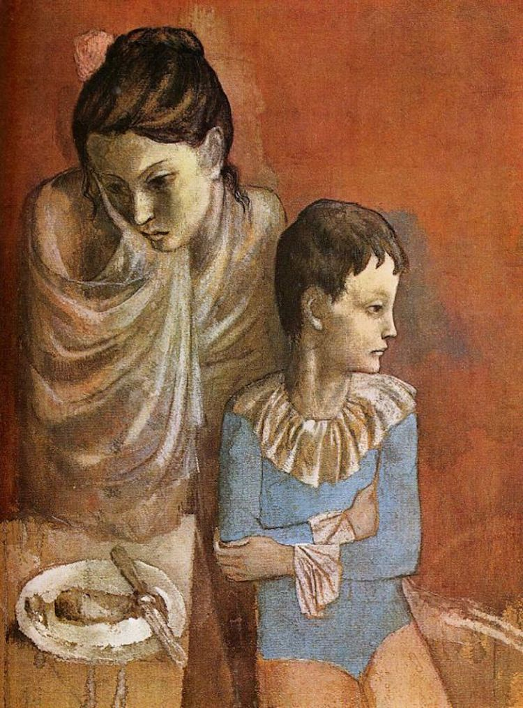 «Акробаты (Мать и сын)», 1905 год