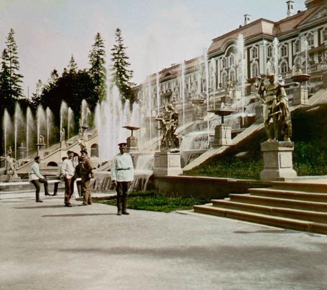 Петергоф, конец 19 века