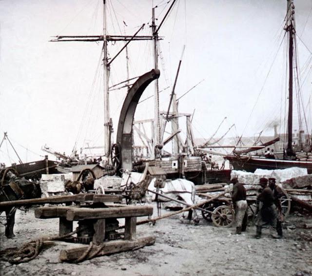 Набережная в Санкт-Петербурге, конец 19 века