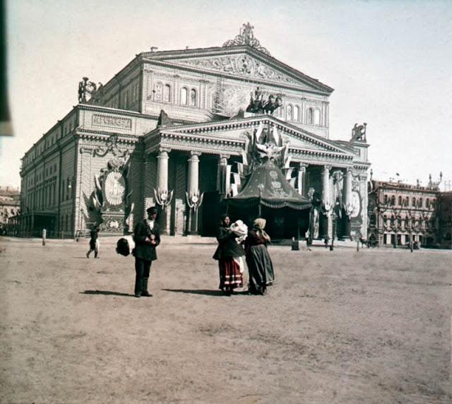 Москва, конец 19 века