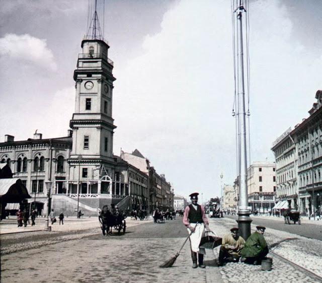 Невский проспект, Санкт-Петербург, конец 19 века