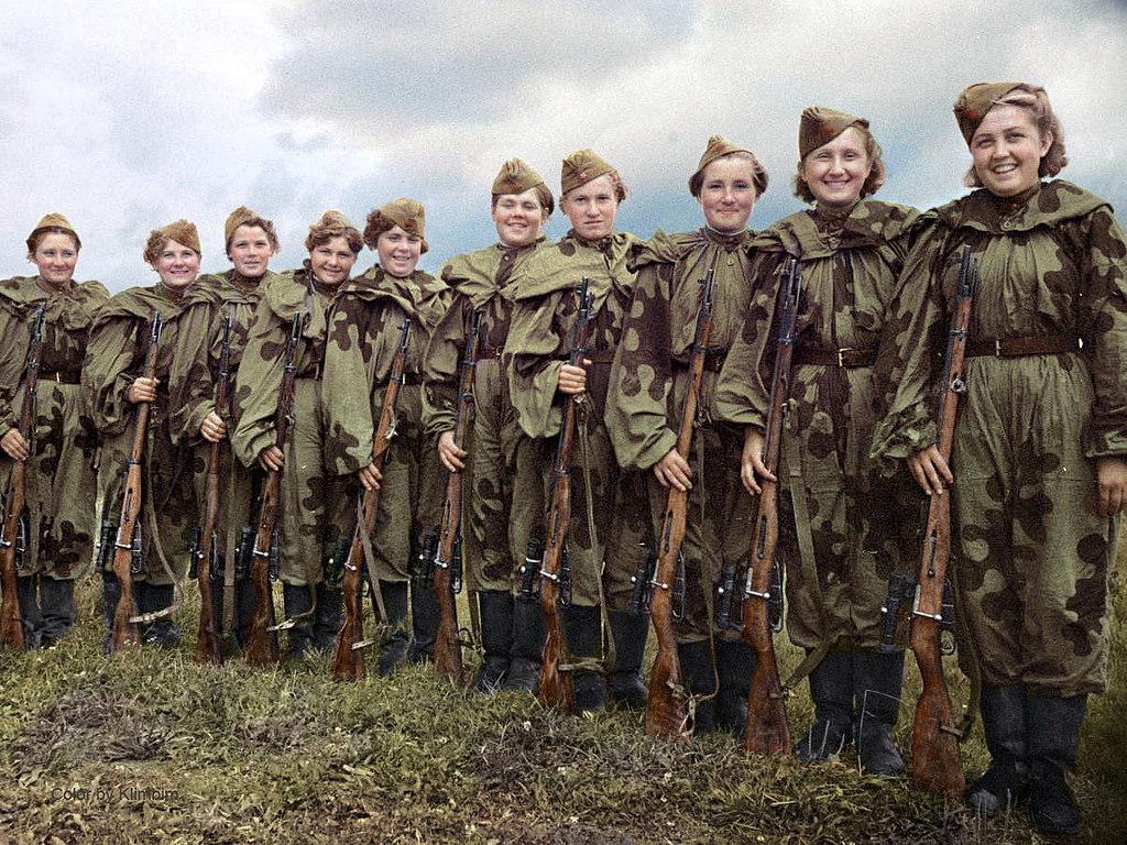 Центральная женская школа снайперской подготовки, 1943 год