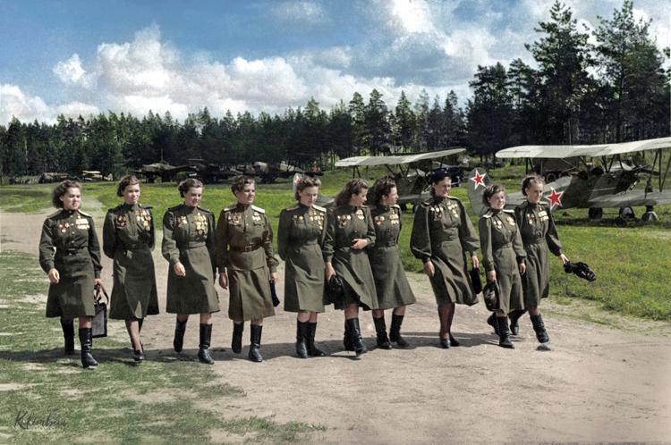 «Ночные ведьмы» - женский авиационный полк в составе ВВС СССР