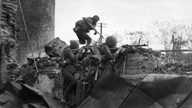 Боевая позиция Красной Армии