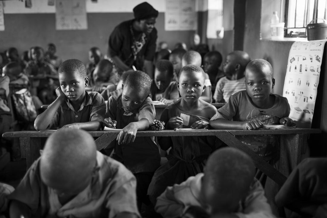 Образование в Уганде глазами британского фотографа