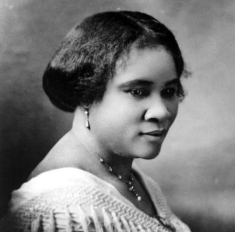 Мадам Си Джей Уокер (1867-1919 года)