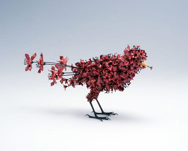 Изящные скульптуры из металла от Тайчиро Йошиды