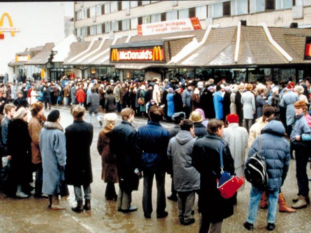 Как открывался первый «Макдоналдс» в СССР