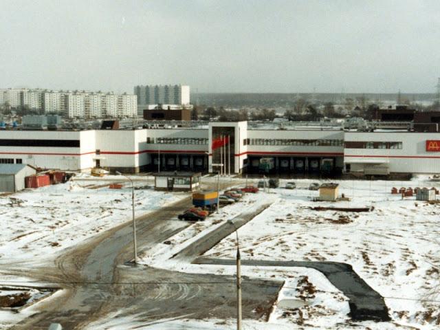 Завод Макдоналдса по производству булочек и других ингредиентов