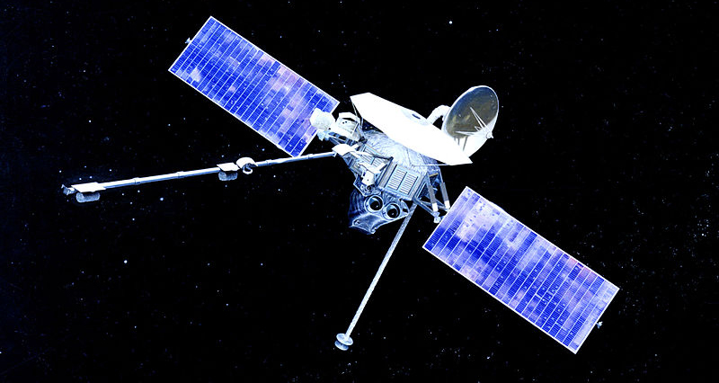 Маринер-10 — первый космический аппарат, достигший Меркурия