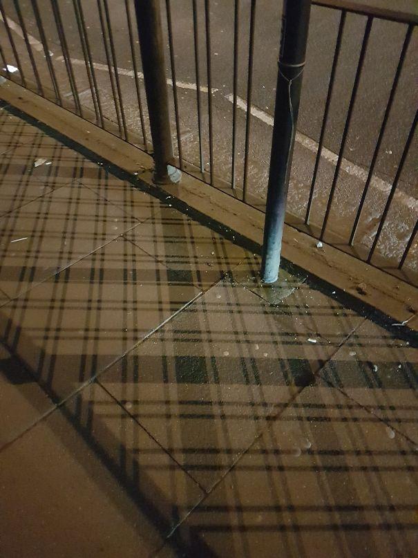 В Шотландии даже тени в клеточку